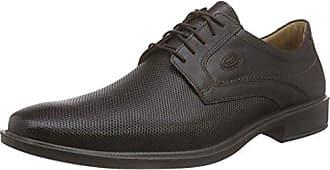 Jomos - Zapatos de cordones de cuero para hombre marrón Marrón-marrón 45