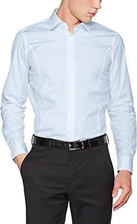 17 JSH-26Pauly 10000628, Camisa para Hombre, Azul (Navy 401), 43 cm Joop