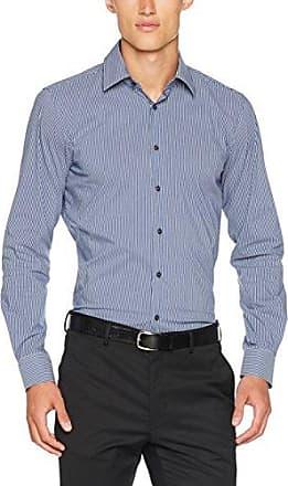 17 JSH-37Pierre2 10003675, Camisa de Oficina para Hombre, Gris (Medium Grey 035), 43 Joop