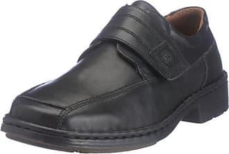 Schuhfabrik GmbH 38010 23600 - Zapatos de cuero para hombre, color negro, talla 39 Josef Seibel