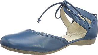 Josef Seibel Fiona 47, Sandalia con Pulsera para Mujer, Azul (Blau 500), 39 EU