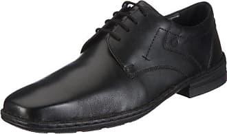 Josef Seibel Schuhfabrik GmbH 38010 23600 - Zapatos de cuero para hombre, color negro, talla 42
