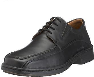 Josef Seibel Chaussures Derby Homme - Noir - Noir (Schwarz 873100), 47 EU