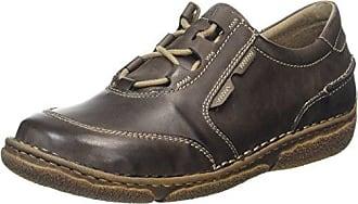 Josef Seibel Slater, Zapatos de Cordones Derby para Hombre, Negro (Schwarz 600), 45 EU