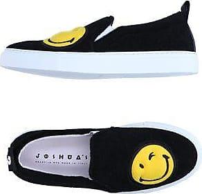 JOSHUA SANDERS Leather Sneakers with Fox Fur Gr. EU 35