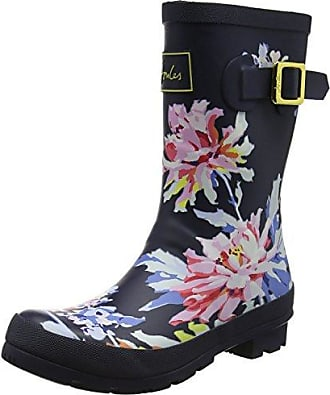 Tom Joule Damen Y_Wellyprint Gummistiefel, Blau (Navy Whistable), 36 EU
