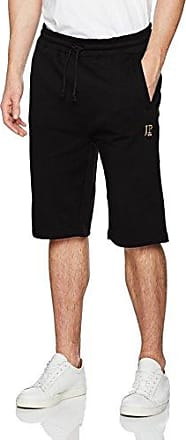 Mens Sweathose Kurz Shorts, Black (Schwarz 10), XXX-Large JP1880