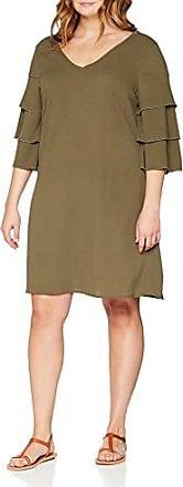 Womens Jraddy 3/4 Sl Above Knee Shirt Dress- K Long sleeve Dress Junarose