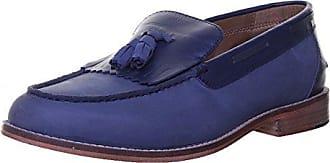 Lässige Komfort-Loafer aus Veloursleder für Herren, weite Passform - Braun - 41H von Lands End Lands End