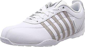 K-Swiss Donovan, Baskets Homme, Blanc (White/Gum 151), 46 EU