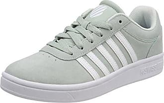 K-Swiss Court Cheswick SDE, Zapatillas para Mujer, Gris (Gray Lilac/White), 39.5 EU