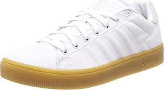 K-Swiss Court Frasco, Zapatillas para Mujer, Plateado (Silver/White/Barely Blue), 42 EU