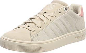 K-Swiss Court Cheswick, Zapatillas para Mujer, Blanco (White/Peaches N' Cream 159), 42 EU