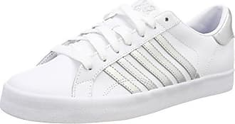 K-Swiss Belmont So, Zapatillas Mujer, Blanco (White/Gold 194), 37 EU