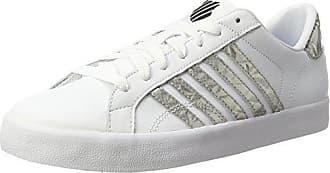 K-Swiss Belmont So, Zapatillas para Mujer, Blanco (White/Gold 194), 35.5 EU