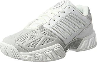 Defier RS, Chaussures de Tennis Homme, Blanc (White/Dressblues/Fieryred), 39.5 EUK-Swiss