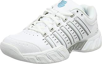 K-Swiss Defier RS, Chaussures de sport Homme - Blanc (White/Black), 41.5 EU (7.5)