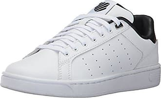 K-Swiss Clean Court CMF, Zapatillas para Mujer, Negro (Wind Chime/White 021), 35.5 EU