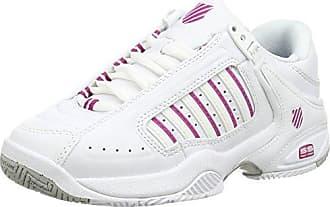 Lozan III TT, Sneakers Basses Homme, Blanc (White/Fiery Red), 41.5 EUK-Swiss