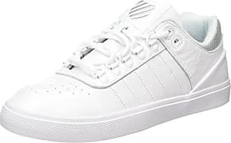 K-Swiss Gstaad BL – Chaussures Unisexe, Couleur Blanc, Gstaad BL, Blanc, 40 EU