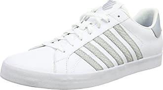 Belmont so T, Herren Sneakers, Weiß (White/Gull Gray 131), 41.5 EU (7.5 Herren UK) K-Swiss