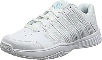 K-Swiss Court Frasco, Zapatillas para Mujer, Blanco (White/Silver/Barely Blue), 37 EU