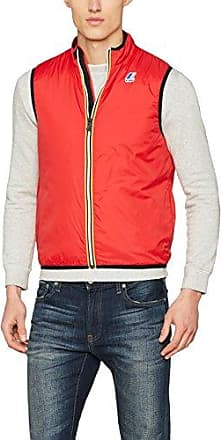 20704155, Chaleco para Hombre, Rojo (Rust Red 73830), Large Blend