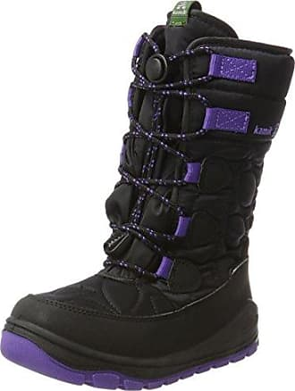 Sorel Youth Flurry, Botas de Nieve para Niñas, Morado (Paisley Purple/Black), 35 EU