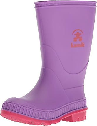 Kamik Bubblez, Botas de Agua Unisex Niños, Morado (Dark Purple-Violet Fonce DPU), 27 EU