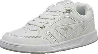 Kangaroos K-March, Zapatillas para Mujer, Gris (Vapor Grey/Mauve Glow 2045), 38 EU