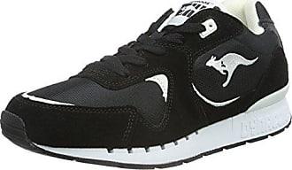 KangaROOS 36903, Chaussures Derby Femme - Noir - Noir (Black/Magenta 565), 38 EU