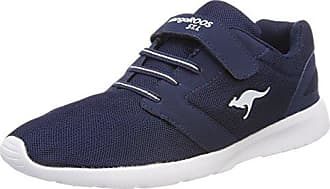 Kangaroos Nihu EV, Zapatillas para Mujer, Azul (Navy/White 4026), 41 EU