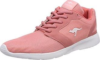 Kangaroos Nihu, Zapatillas para Mujer, Rojo (Mauve Glow/White 6033), 42 EU