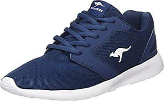 Kangaroos Nihu EV, Zapatillas para Mujer, Azul (Navy/White 4026), 42 EU
