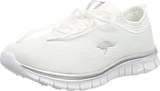 KangaROOS K-RUN NEO - Trainers - white/silver
