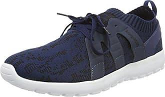 KangaROOS Nihu, Sneaker Donna, Nero (Jet nero/White 5012), 42 EU