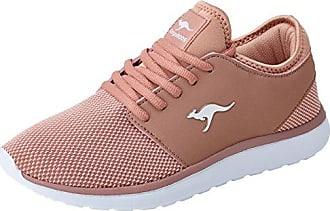 Kangaroos Kangashine EV, Zapatillas Unisex Adulto, Pink (Rose/Gold), 41 EU