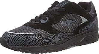KangaROOS Ultimate All Black Herren Sneakers  43 EUSchwarz (Black 500)