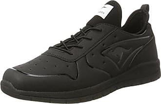 KangaROOS Unisex-Kinder K-Reg Sneaker, Schwarz (Jet Black/Silver), 29 EU