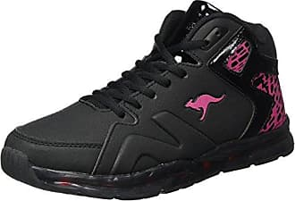 Scarpe sportive casual nere per unisex Kangaroos