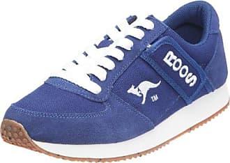 Kangaroos Combat 71490_Bleu (Navy/White) - Zapatillas de tela para hombre, color azul, talla 45 Kangaroos