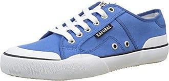 KaporalKafka - Botas de Caño bajo Hombre, Azul (Azul (Marine)), 44