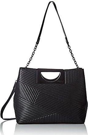 Naby, Womens Top-Handle Bag, Black, 3x23x26 cm (W x H L) Kaporal