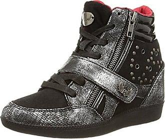 Kaporal Space, Damen Hohe Sneakers, Schwarz (Noir), 37 EU