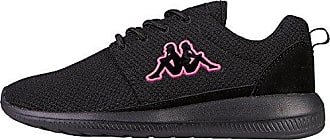 Kappa Stay, Zapatillas Unisex Adulto, Negro (1122 Black/Pink), 36 EU