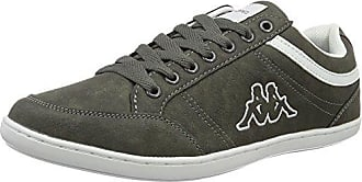 Kappa Forward Low, Zapatillas para Hombre, Gris (1333 Anthra/Lime 1333 Anthra/Lime), 41 EU