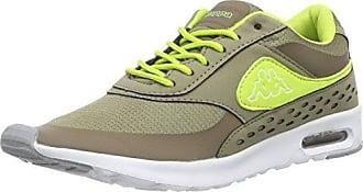 Milla Footwear Women, Sneaker Donna, Verde (3433 Khaki/Lime), 37 Kappa