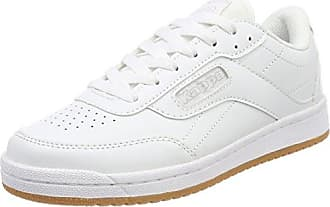Kappa Base II, Zapatillas Unisex Adulto, Blanco (White 1010), 38 EU