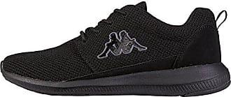 Zapatos negros con velcro Kappa infantiles