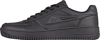 Kappa Kato, Sneaker Uomo, Nero (1116 Black/Grey 1116 Black/Grey), 44 EU